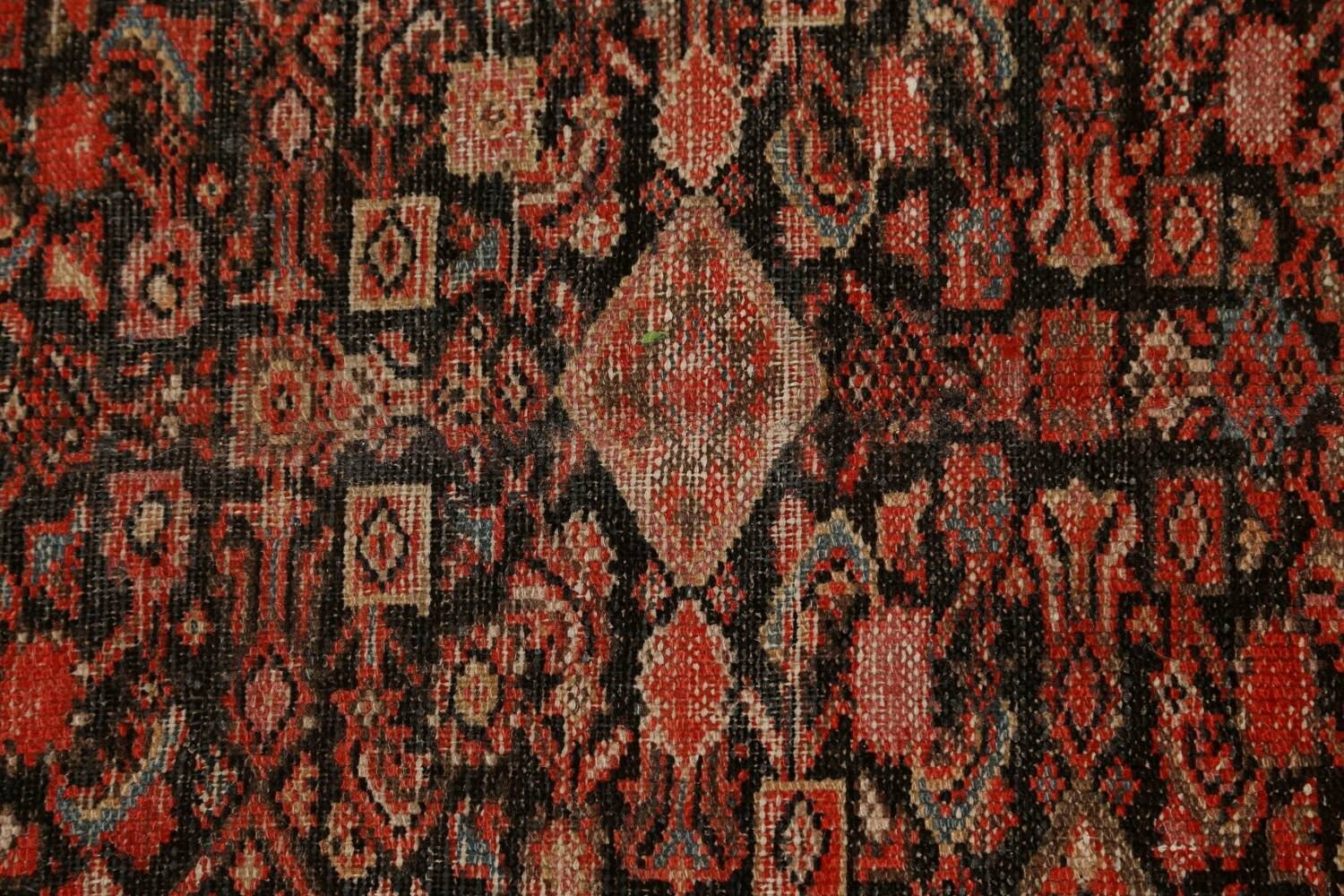 Pre-1900 Antique Vegetable Dye Malayer Persian Area Rug 5x10 image 10