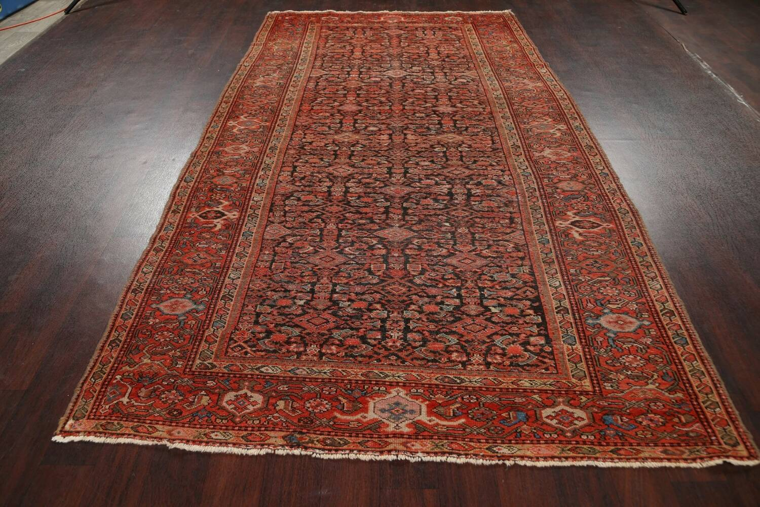 Pre-1900 Antique Vegetable Dye Malayer Persian Area Rug 5x10 image 14