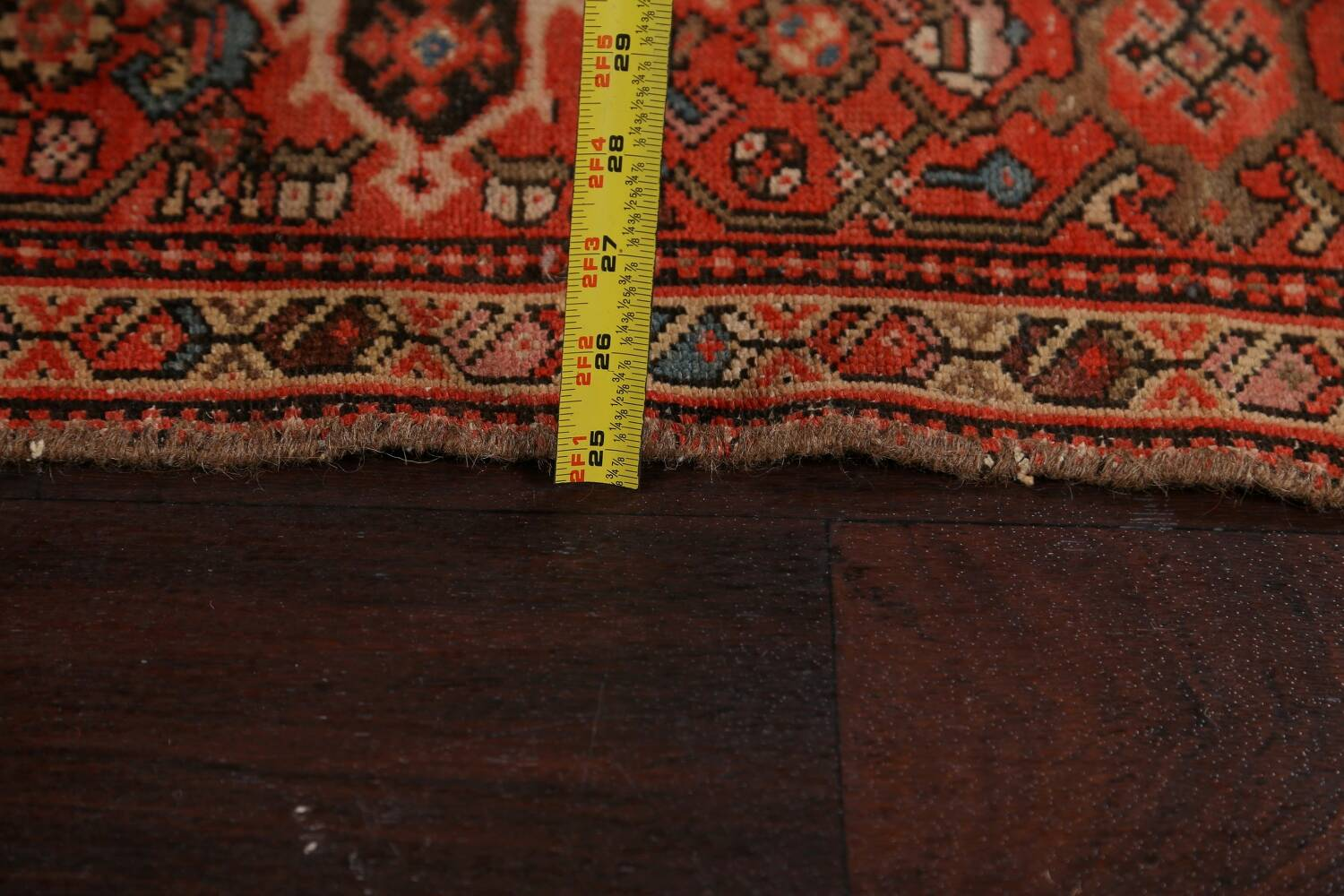 Pre-1900 Antique Vegetable Dye Malayer Persian Area Rug 5x10 image 18