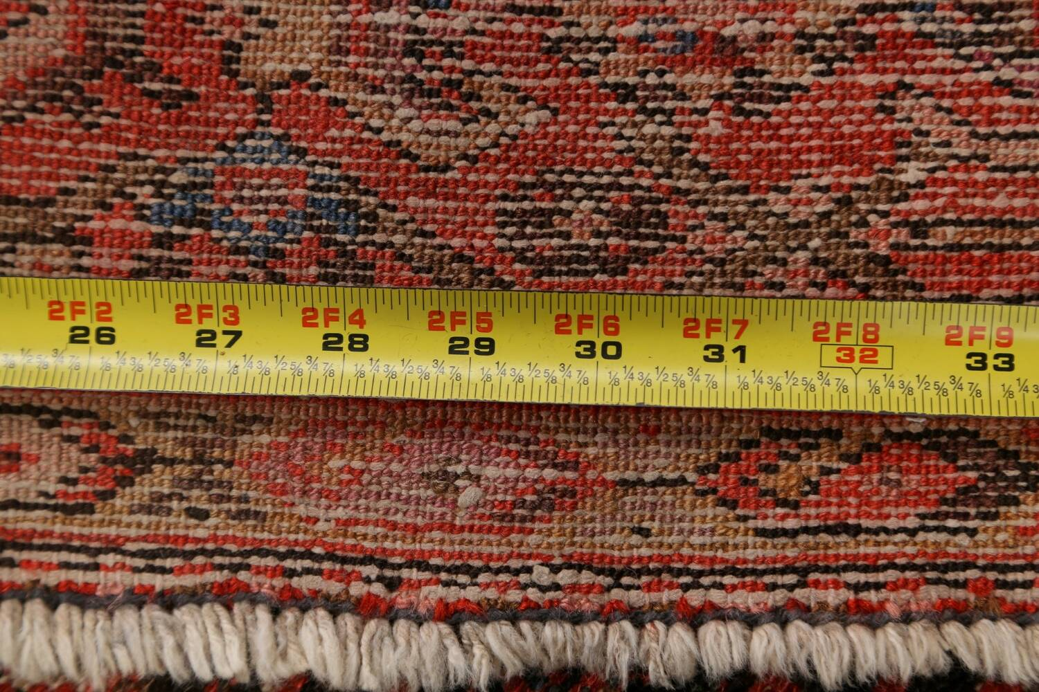 Pre-1900 Antique Vegetable Dye Malayer Persian Area Rug 5x10 image 19