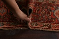 Pre-1900 Antique Vegetable Dye Malayer Persian Area Rug 5x10 image 17
