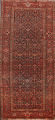 Pre-1900 Antique Vegetable Dye Malayer Persian Area Rug 5x10 image 1