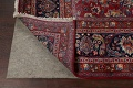 Antique Floral Vegetable Dye Mashad Persian Area Rug 10x13 image 7