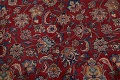 Antique Floral Vegetable Dye Mashad Persian Area Rug 10x13 image 11