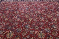 Antique Floral Vegetable Dye Mashad Persian Area Rug 10x13 image 16