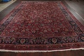 Antique Floral Vegetable Dye Mashad Persian Area Rug 10x13 image 19