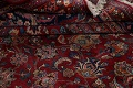 Antique Floral Vegetable Dye Mashad Persian Area Rug 10x13 image 20
