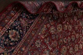 Antique Floral Vegetable Dye Mashad Persian Area Rug 10x13 image 21