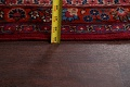 Antique Floral Vegetable Dye Mashad Persian Area Rug 10x13 image 23