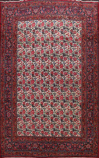 Antique Vegetable Dye Mood Persian Area Rug 11x14 Large