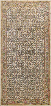 Antique Vegetable Dye Mahal Persian Area Rug 7x12