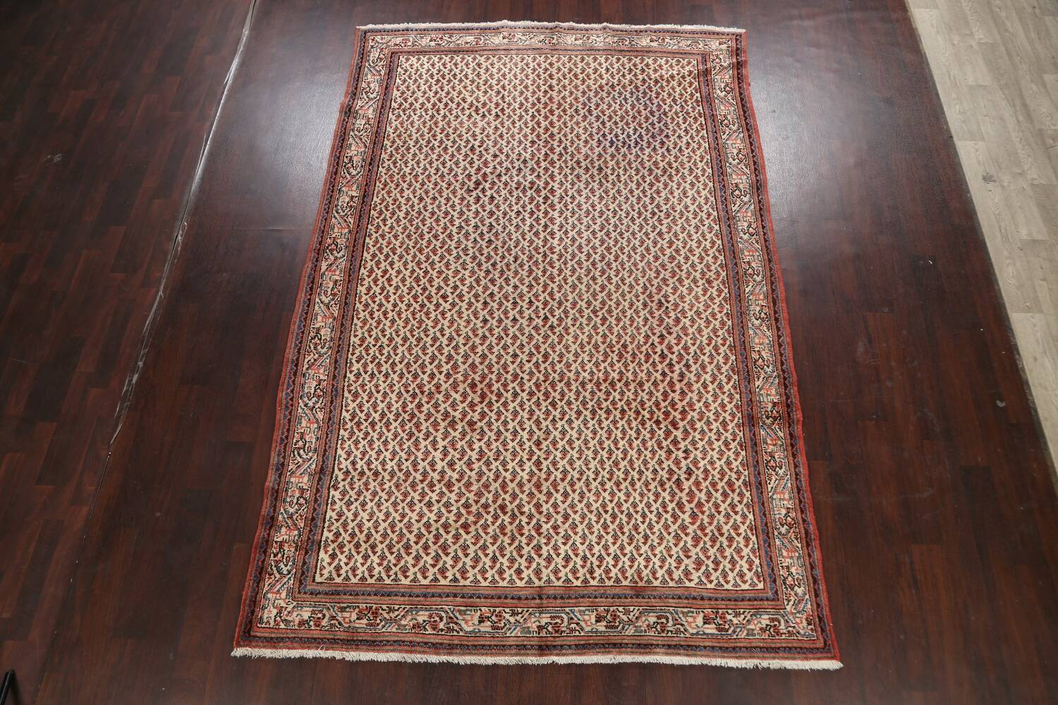 All-Over Boteh Botemir Persian Area Rug 7x11 image 2