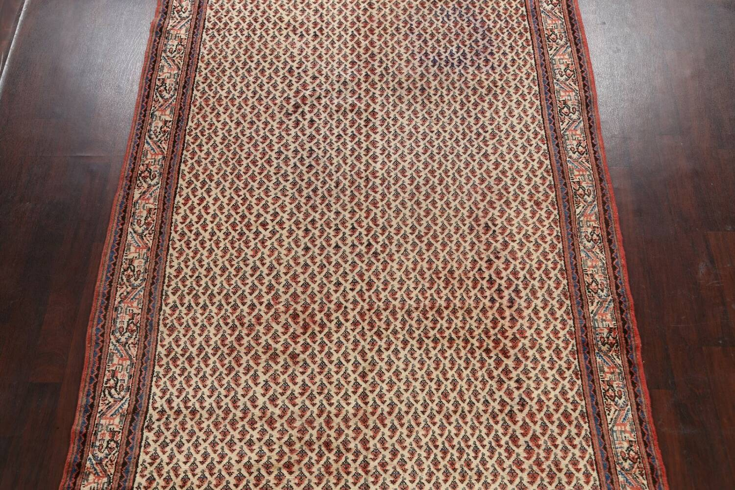All-Over Boteh Botemir Persian Area Rug 7x11 image 3