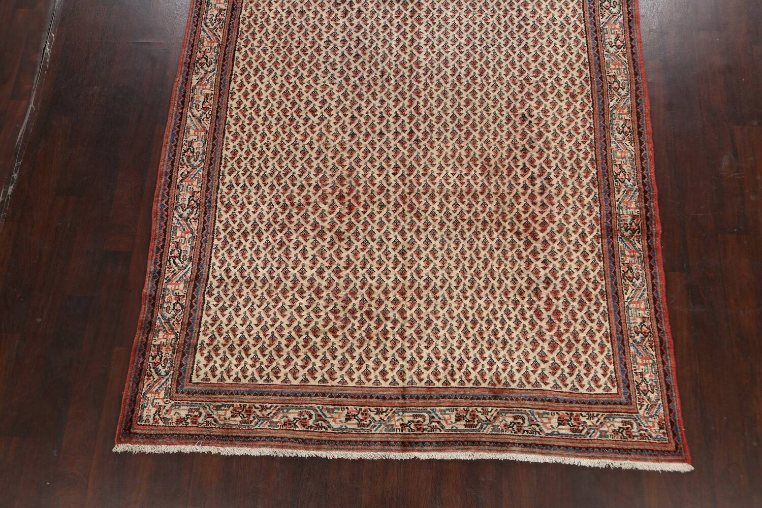 All-Over Boteh Botemir Persian Area Rug 7x11 image 8