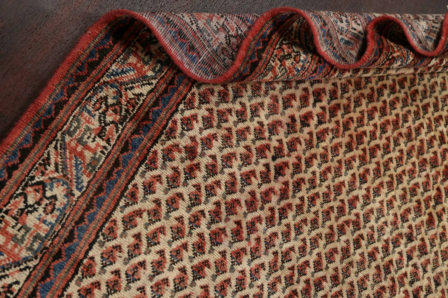 All-Over Boteh Botemir Persian Area Rug 7x11 image 20