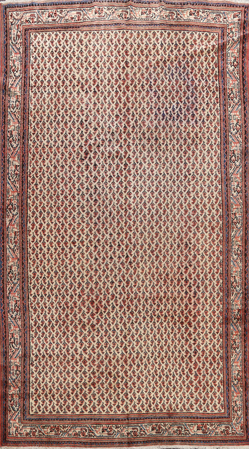 All-Over Boteh Botemir Persian Area Rug 7x11 image 1