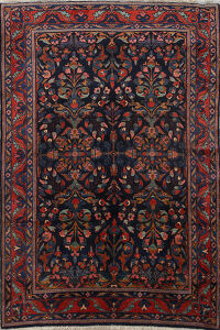 Floral Lilian Vegetable Dye Persian Area Rug 5x7