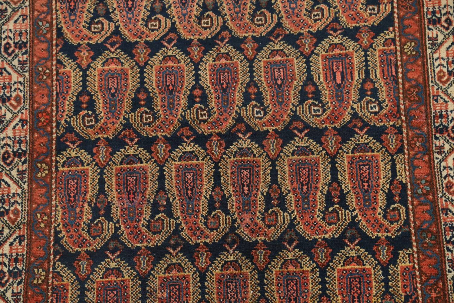 Antique All-Over Malayer Persian Area Rug 4x7 image 4