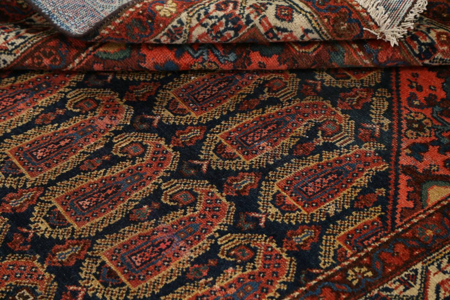Antique All-Over Malayer Persian Area Rug 4x7 image 16