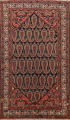 Antique All-Over Malayer Persian Area Rug 4x7 image 1