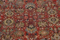 Pre-1900 Vegetable Dye Sultanabad Persian Area Rug 10x13 image 4