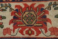Pre-1900 Vegetable Dye Sultanabad Persian Area Rug 10x13 image 10