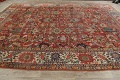 Pre-1900 Vegetable Dye Sultanabad Persian Area Rug 10x13 image 17
