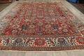 Pre-1900 Vegetable Dye Sultanabad Persian Area Rug 10x13 image 18