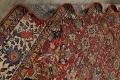 Pre-1900 Vegetable Dye Sultanabad Persian Area Rug 10x13 image 20