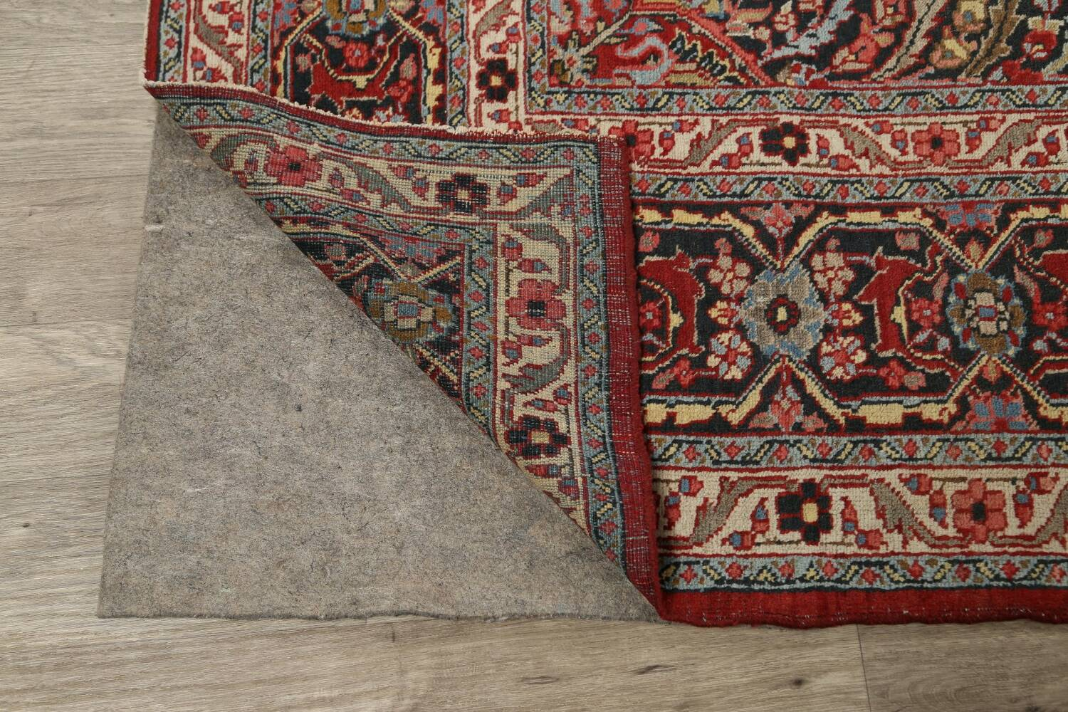 Pre-1900 Antique Sultanabad Persian Area Rug 11x13 Large image 7