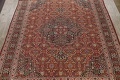 Pre-1900 Antique Sultanabad Persian Area Rug 11x13 Large image 3