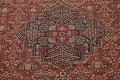 Pre-1900 Antique Sultanabad Persian Area Rug 11x13 Large image 4