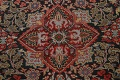 Pre-1900 Antique Sultanabad Persian Area Rug 11x13 Large image 12