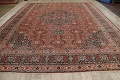 Pre-1900 Antique Sultanabad Persian Area Rug 11x13 Large image 16