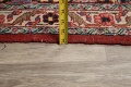 Pre-1900 Antique Sultanabad Persian Area Rug 11x13 Large image 20