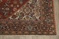 Pre-1900 Vegetable Dye Sultanabad Persian Area Rug 9x11 image 5