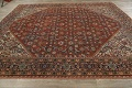 Pre-1900 Vegetable Dye Sultanabad Persian Area Rug 9x11 image 14