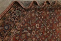 Pre-1900 Vegetable Dye Sultanabad Persian Area Rug 9x11 image 17
