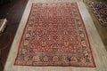 Antique Vegetable Dye Sultanabad Persian Area Rug 10x14 image 2