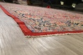 Antique Vegetable Dye Sultanabad Persian Area Rug 10x14 image 6