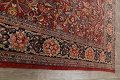 Antique Vegetable Dye Sultanabad Persian Area Rug 10x14 image 18