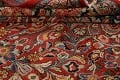 Antique Vegetable Dye Sultanabad Persian Area Rug 10x14 image 21