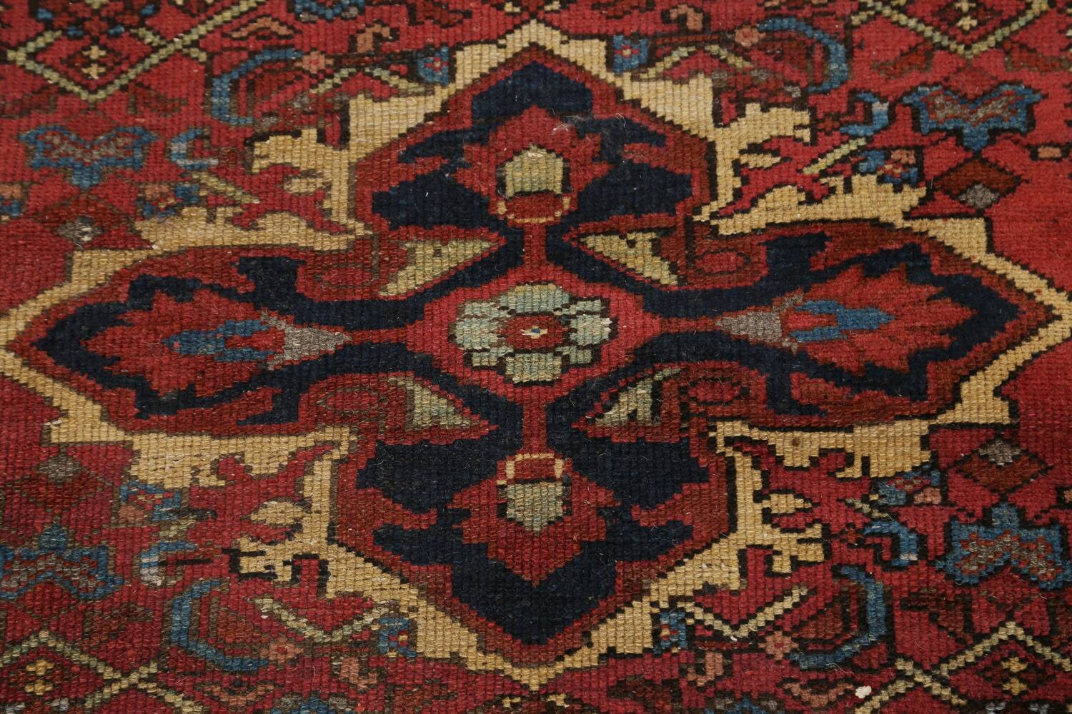 Pre-1900 Antique Vegetable Dye Malayer Persian Area Rug 4x7 image 11