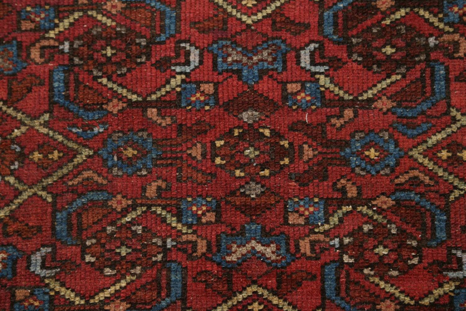 Pre-1900 Antique Vegetable Dye Malayer Persian Area Rug 4x7 image 10