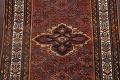 Pre-1900 Antique Vegetable Dye Malayer Persian Area Rug 4x7 image 4