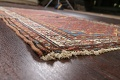 Pre-1900 Antique Vegetable Dye Malayer Persian Area Rug 4x7 image 6