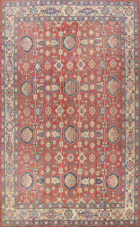 All-Over Super Kazak Oriental Area Rug 10x14
