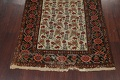 Pre-1900 Antique Vegetable Dye Malayer Persian Runner Rug 3x16 image 8
