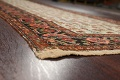 Pre-1900 Antique Vegetable Dye Malayer Persian Runner Rug 3x16 image 6