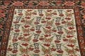 Pre-1900 Antique Vegetable Dye Malayer Persian Runner Rug 3x16 image 11